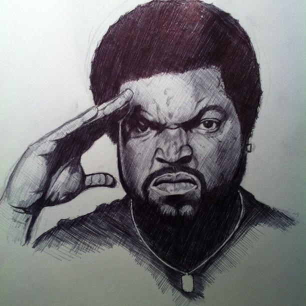 612x612 Ice Cube By Nesteryadig