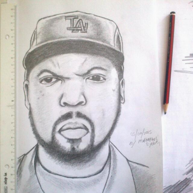 640x640 Mac G Candys House Ice Cube Pencil Drawing By Macgcandy