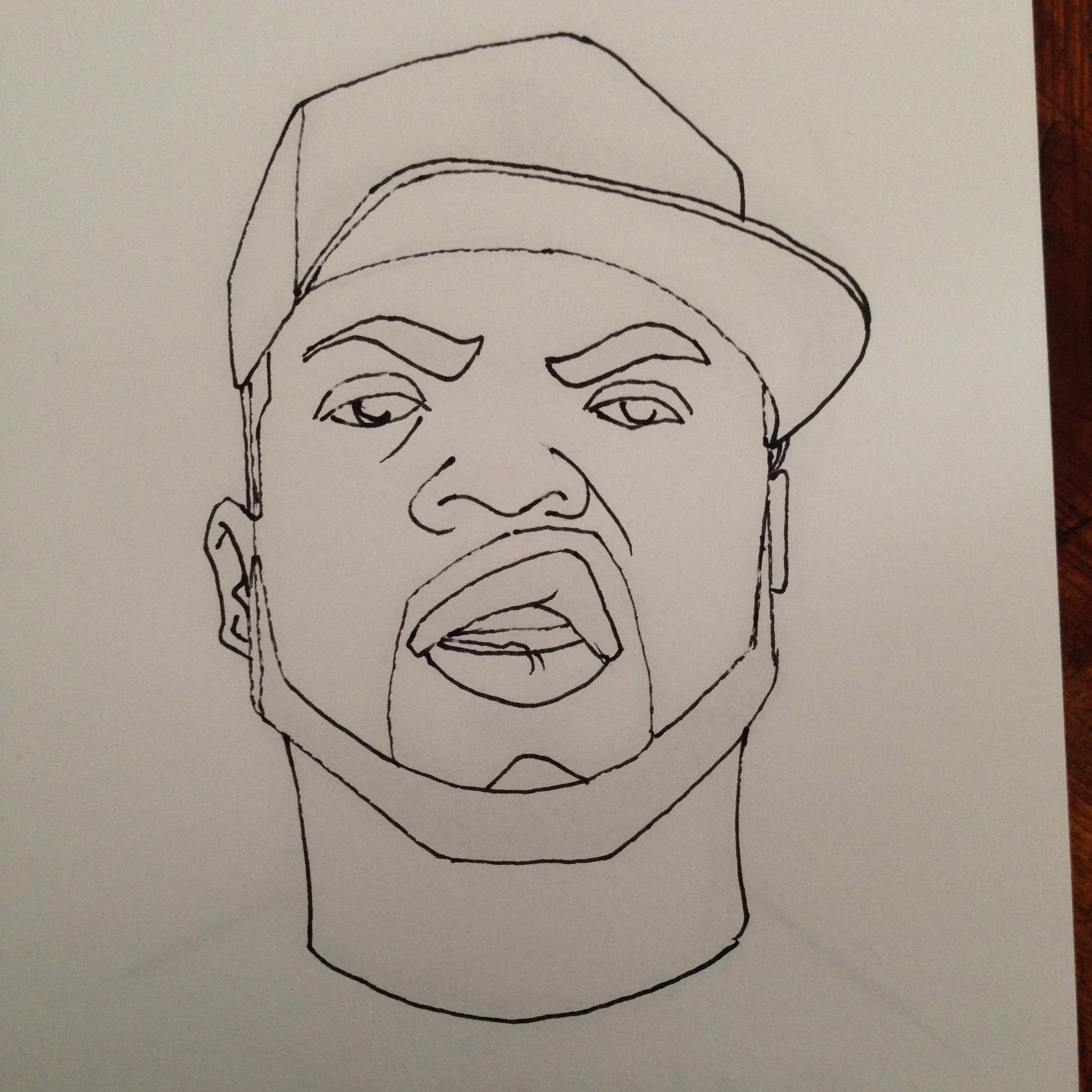 2448x2448 The Rapper A Day Project Day 14 Ice Cube