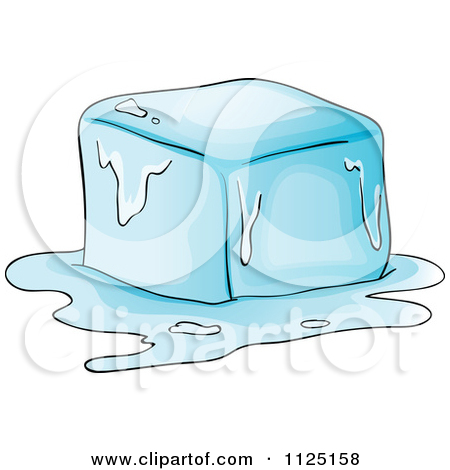 450x470 1125158 Cartoon Of A Melting Ice Cube Royalty Free Vector Clipart