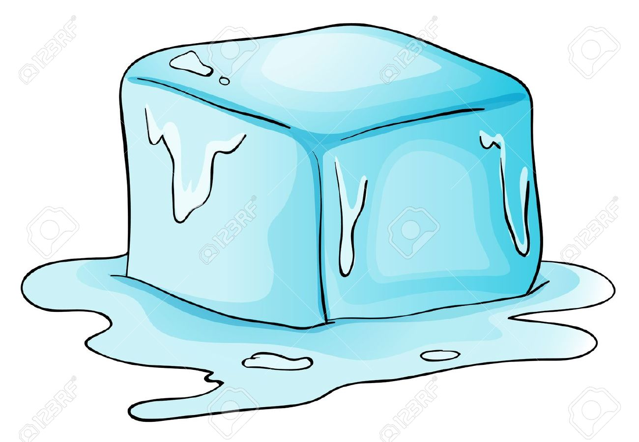Ice Cube Melting Clipart