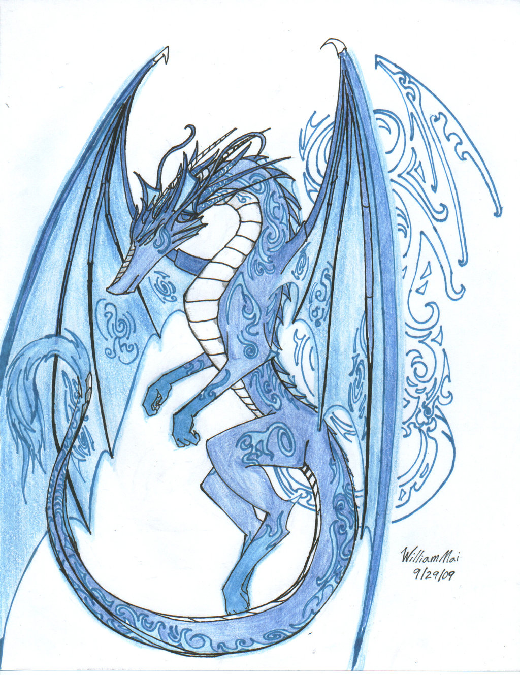 1024x1329 The Anglo Saxon Ice Dragon By Wmdiscovery93