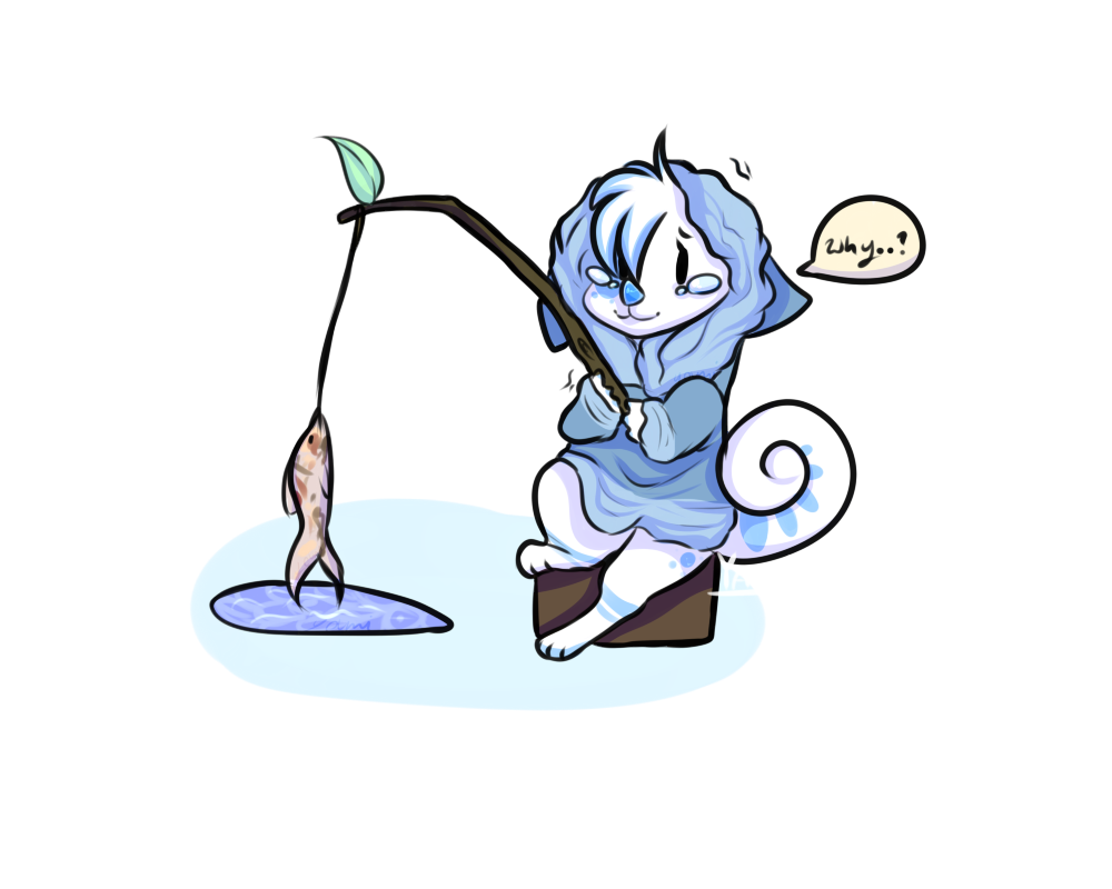 1000x800 Ice Fishing Chimereon Prompt By Yami Booo