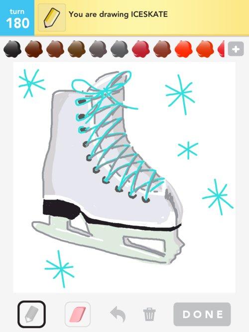 500x667 Iceskate Drawings