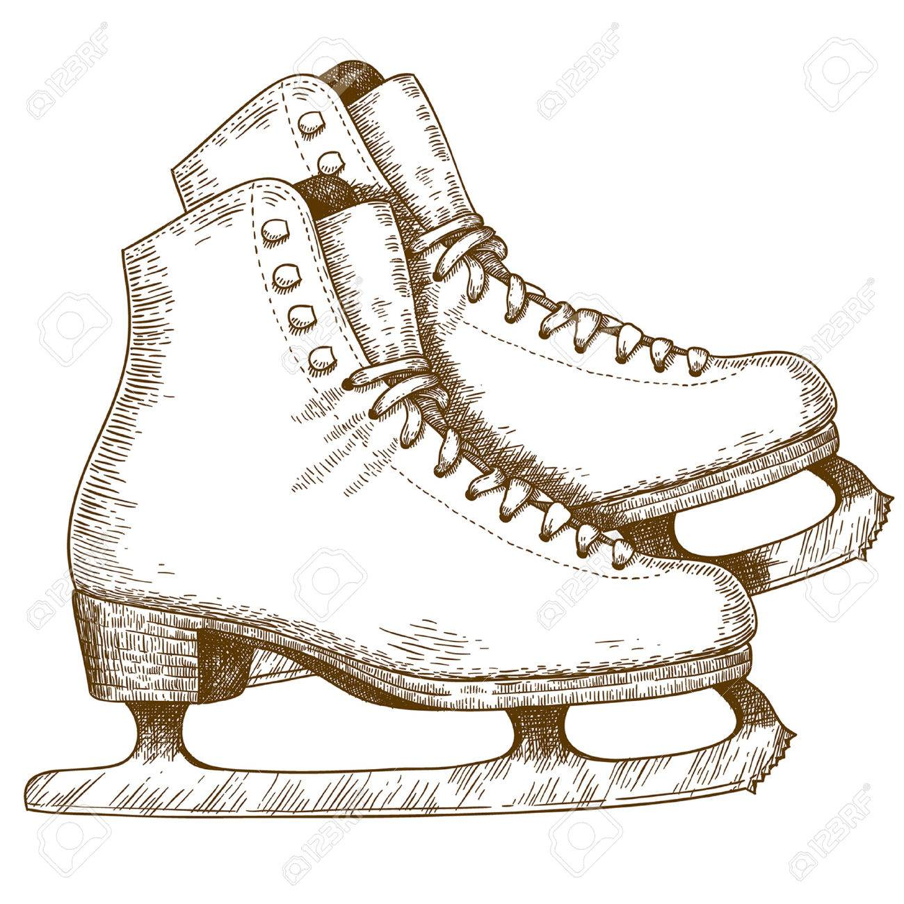 1300x1300 Figure Skates Stock Photos. Royalty Free Business Images