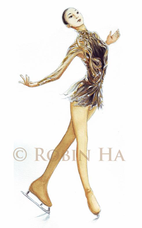 491x785 Yunakim Figure Skating Costume By Robinha81