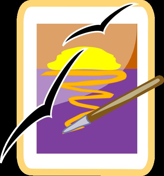552x594 Portrait Drawing Icon Clip Art