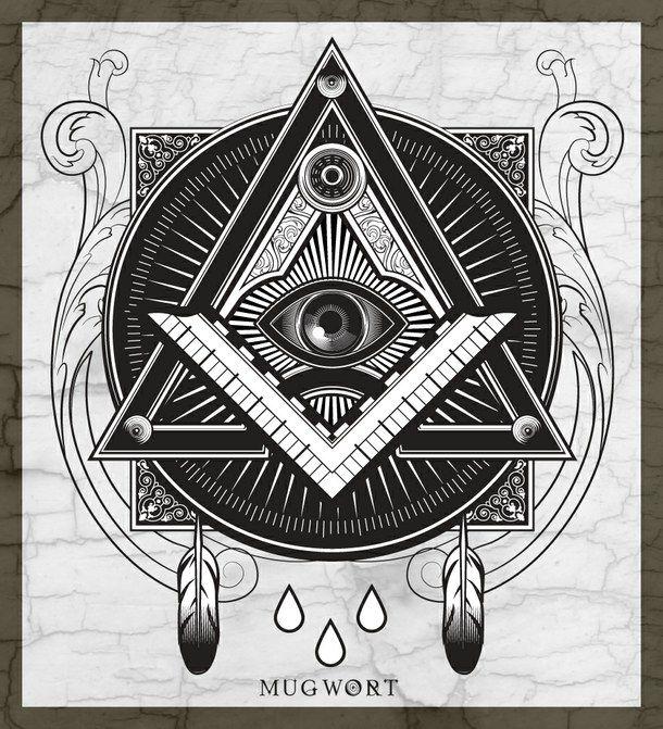 610x671 Black Eye Illuminati Triangle 1431526.jpg