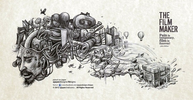659x341 25 Stunning Illustration And Pencil Drawings By Kerala Artist