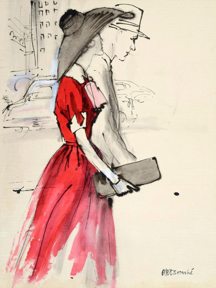 710x945 Fashion Illustrations