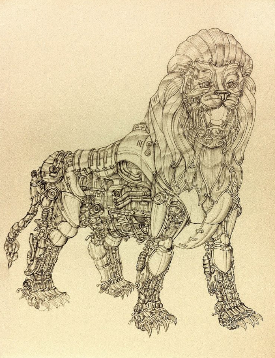 880x1146 I Draw Detailed Illustrations With A Ballpoint Pen Bored Panda
