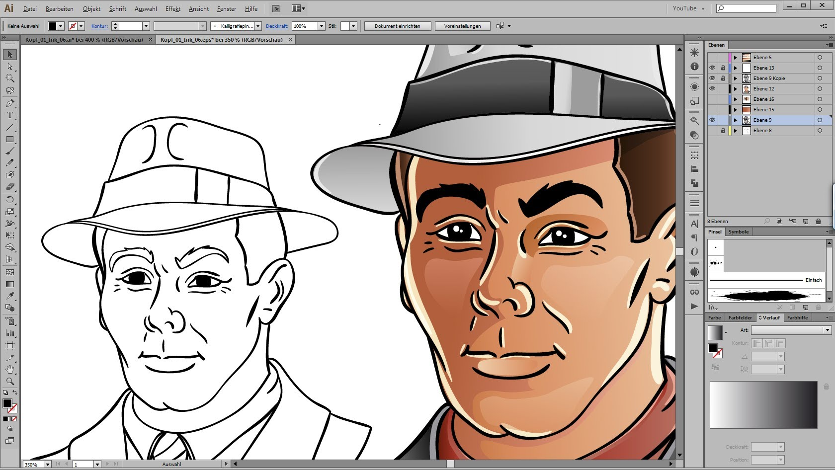 1680x946 Drawing And Coloring Tutorial For Adobe Illustrator