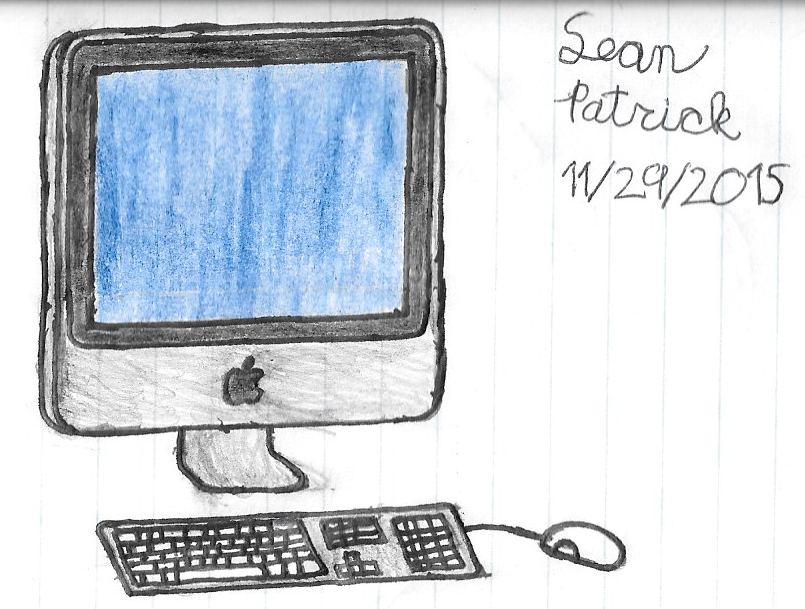 805x609 Imac Drawing By Seanguy4
