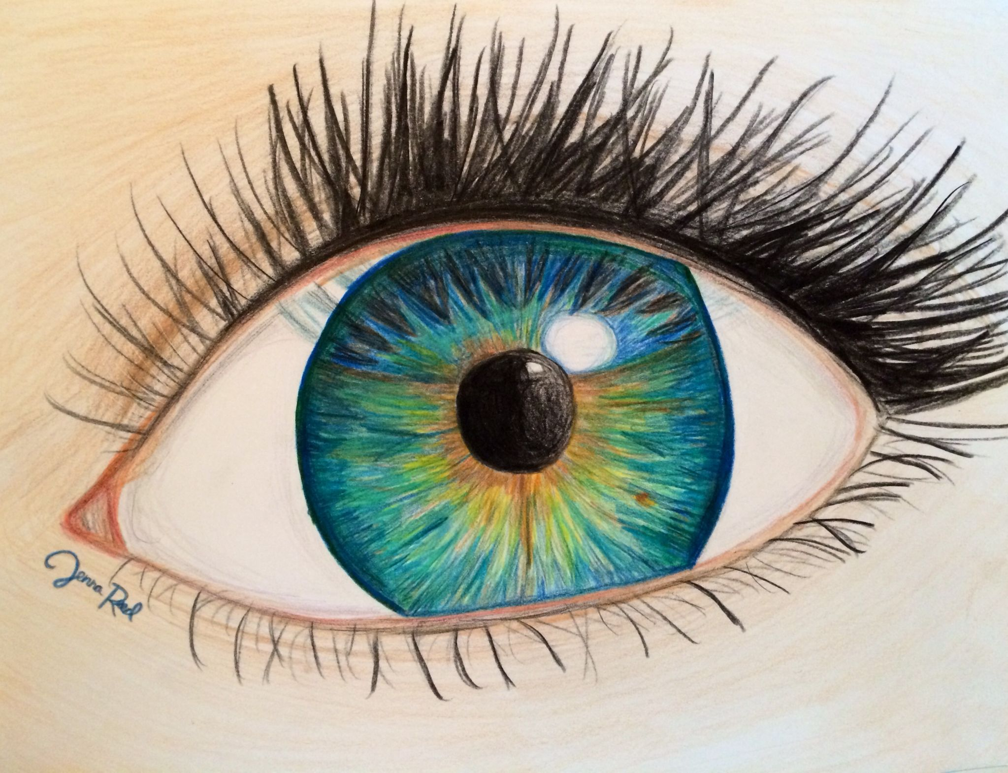 2047x1569 Eye Drawing
