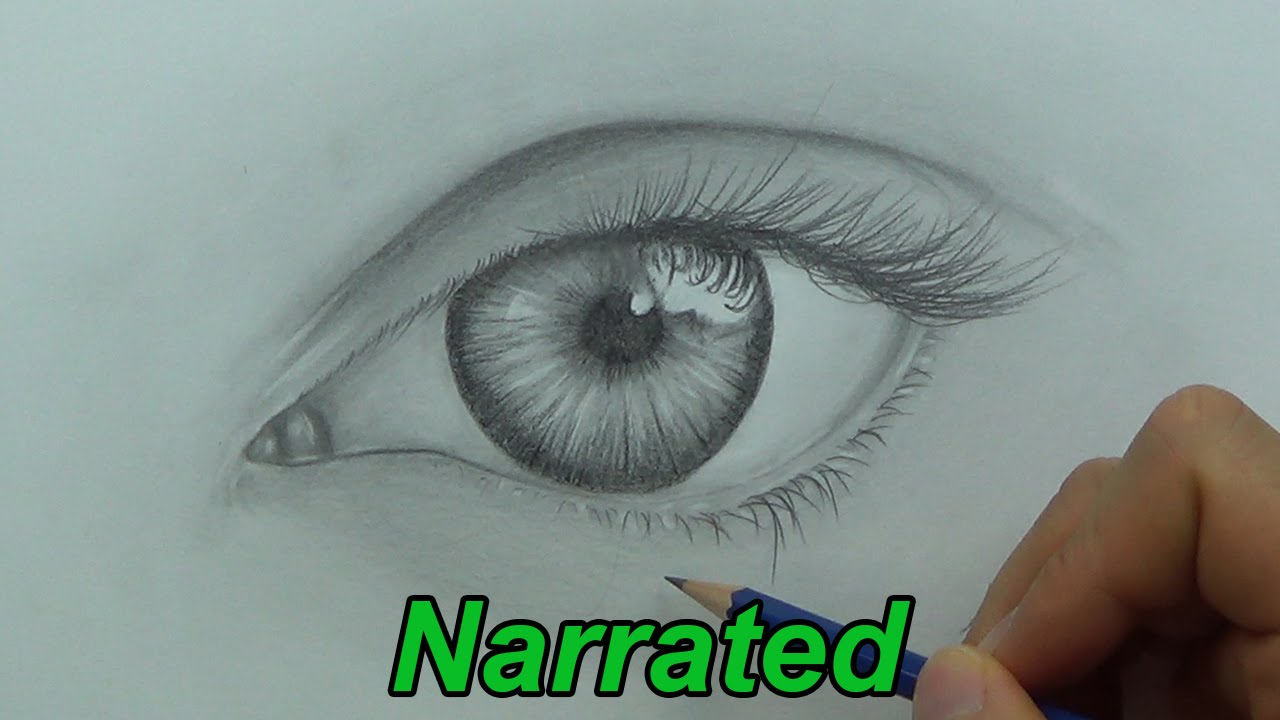 1280x720 How To Draw A Realistic Eye