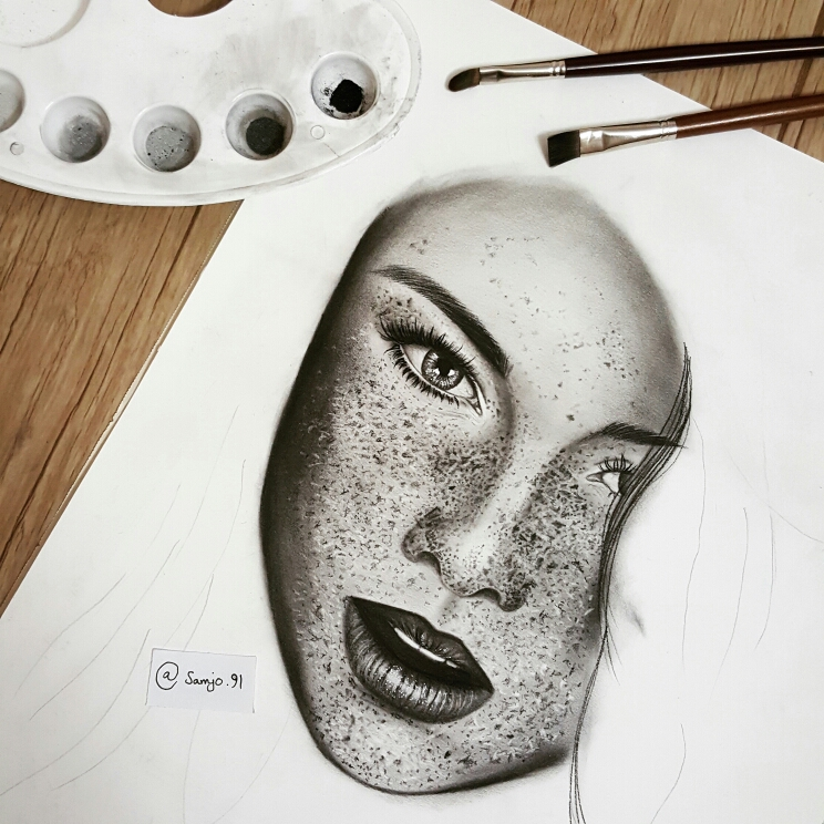 744x744 I Personify Imagination In My Pencil Drawings 99inspiration