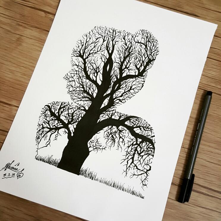 744x744 Beautiful Pencil Drawings Ideas 2
