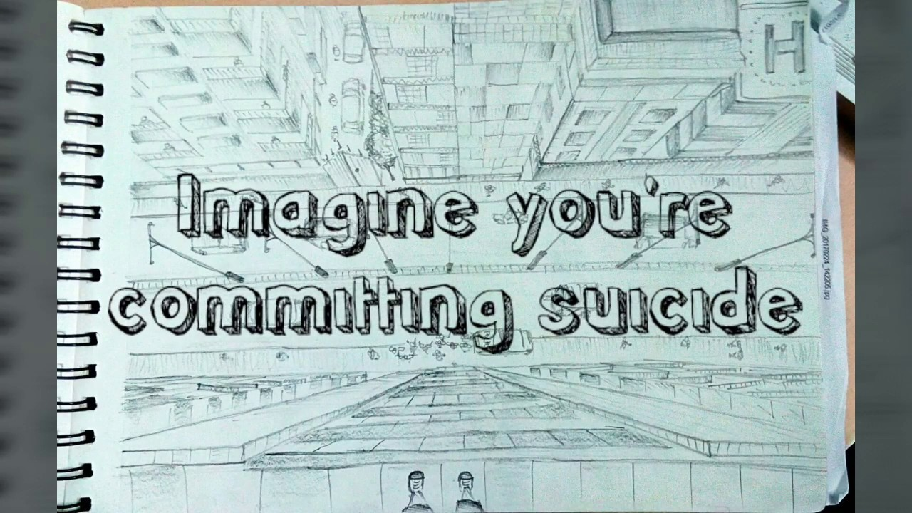 1280x720 Imagine You'Re Committing Suicide Draw The View Nata Drawing