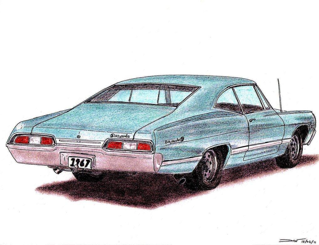 1018x784 1967 Chevrolet Impala Coupe By Twistedmethoddan