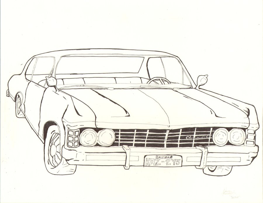 900x693 1967 Chevy Impala By Creedling