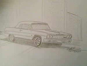 300x228 Impala Drawings