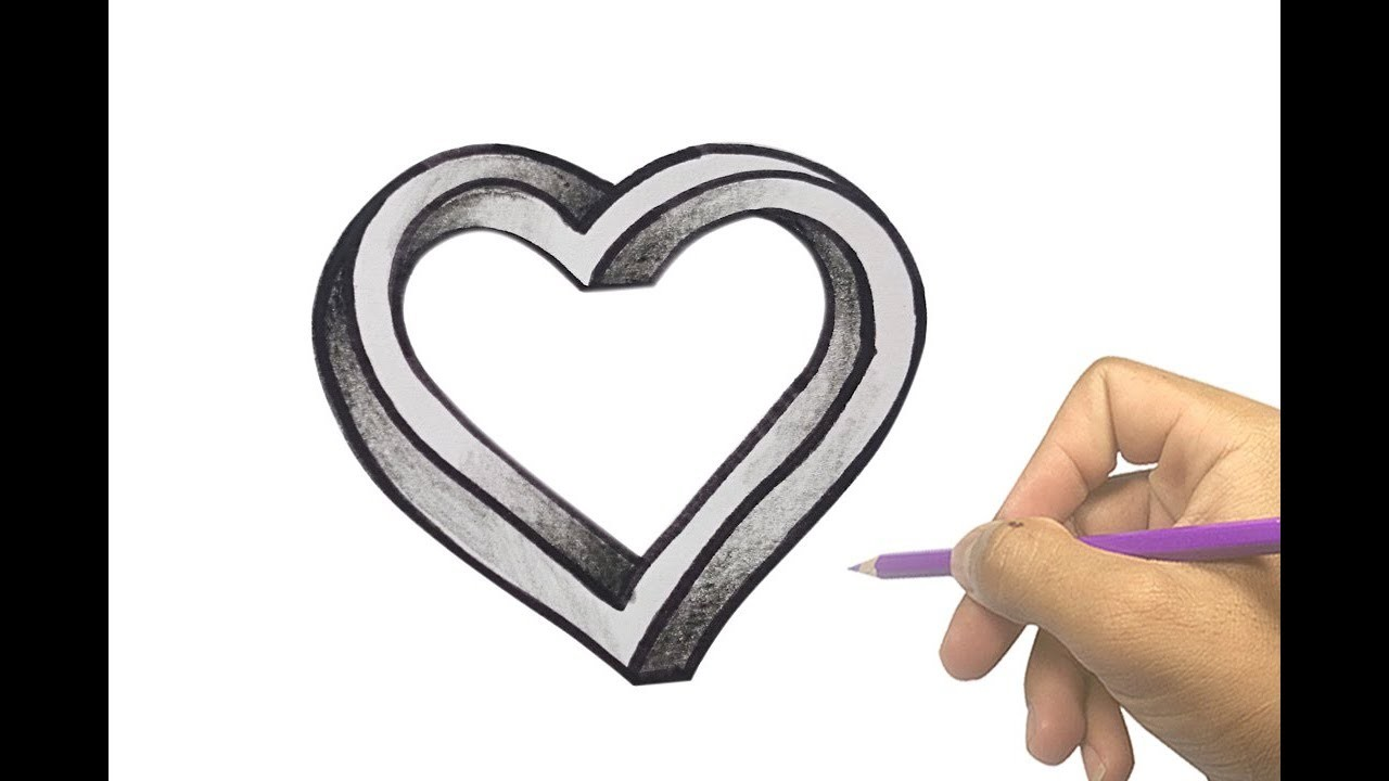 1280x720 How To Draw An Impossible Heart