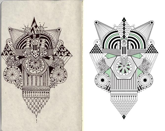 670x531 Inka Drawings