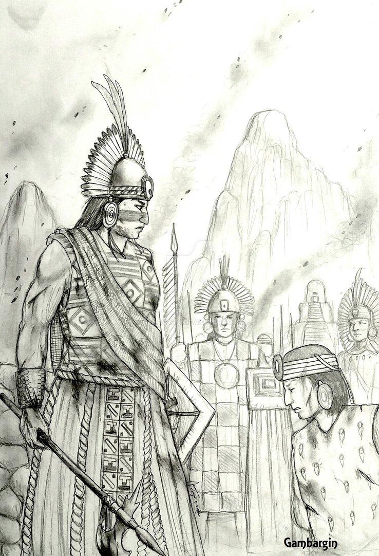 738x1082 Nusta'A Ninasisa Qwaha Of Inkatinsuyu (Inca) By Gambargin