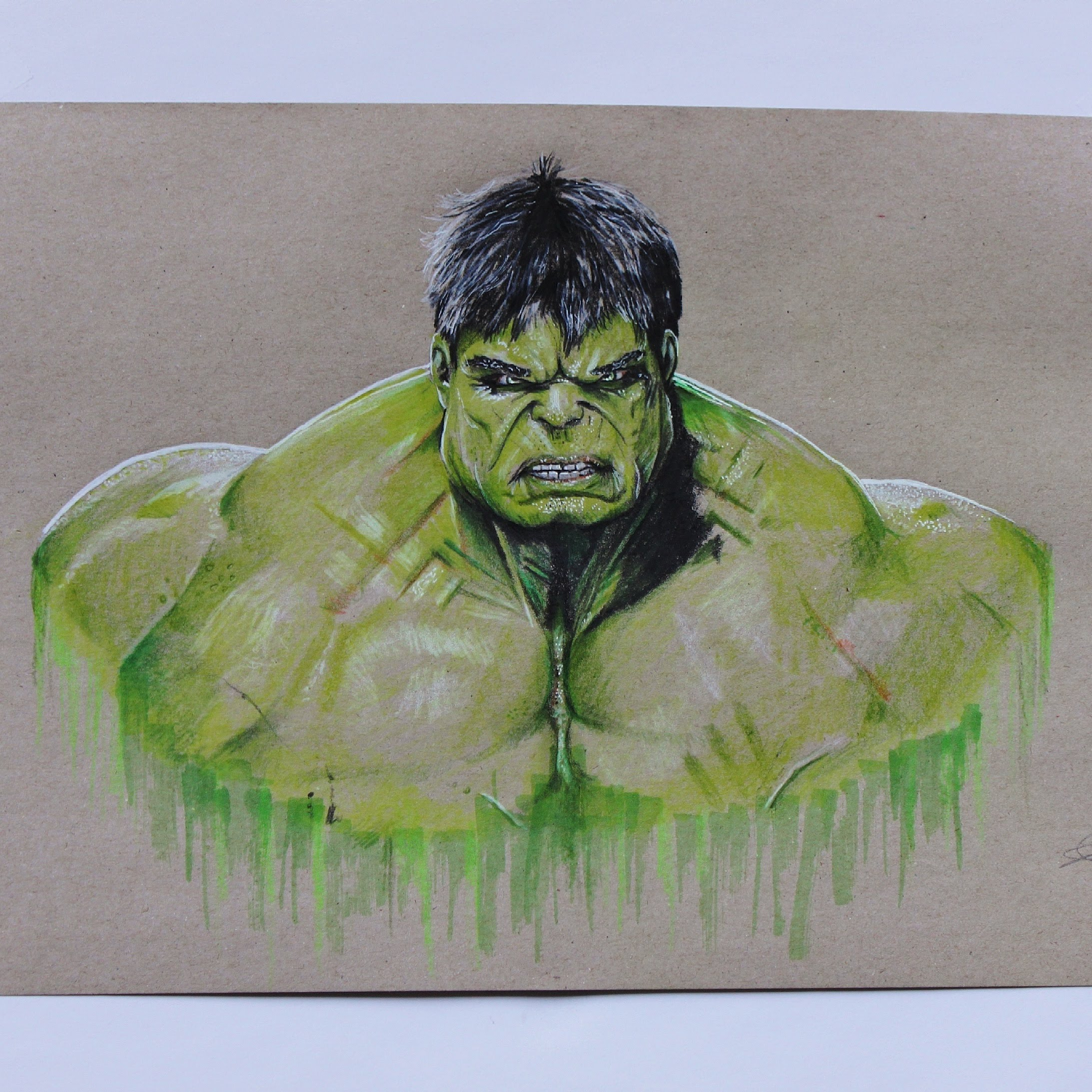 2185x2185 Drawing The Incredible Hulk!