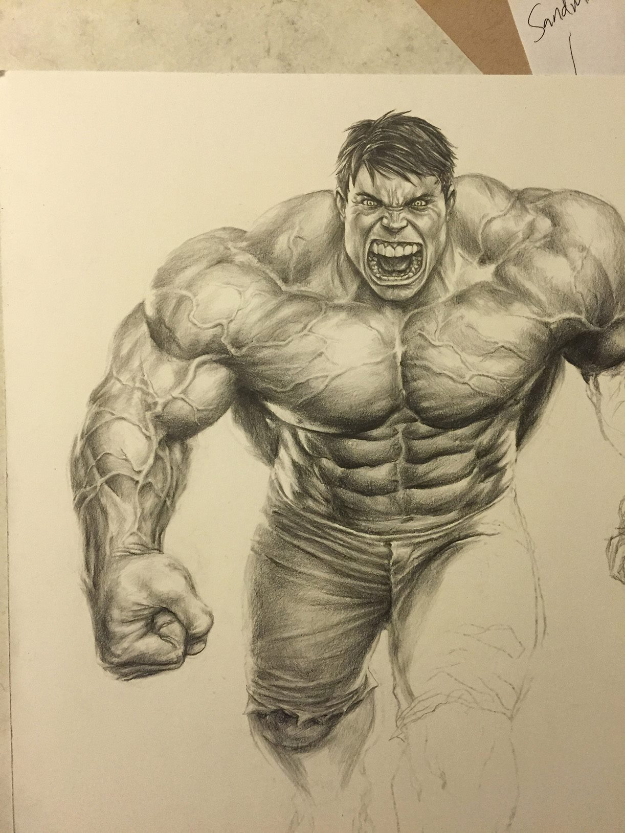 1222x1629 Incredible Hulk Drawings Sketches Artwork The Incredible Hulk