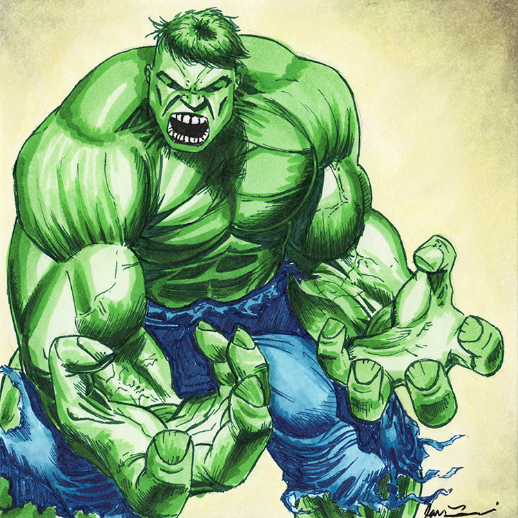 750x750 The Incredible Hulk By Ianlammiart