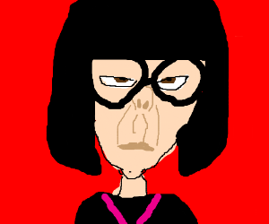 300x250 The Short Lady Secretary From The Incredibles