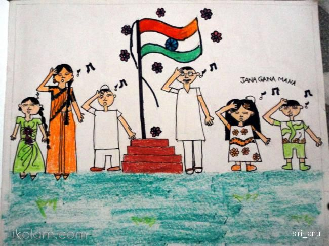 650x486 Image Result For School Independence Day Celebration Drawing