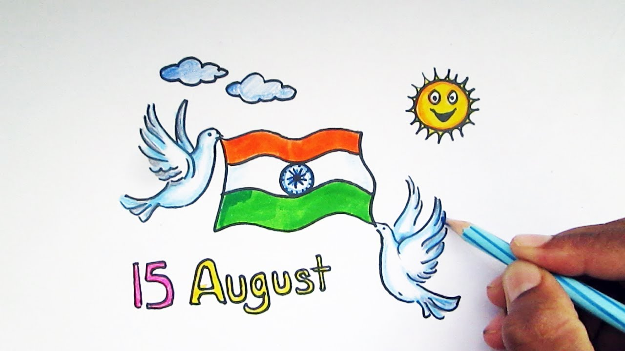 1280x720 Independence Day Drawing Ideas For Kids