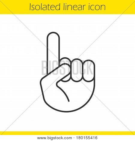 450x470 Attention Linear Icon. Thin Line Vector Amp Photo Bigstock