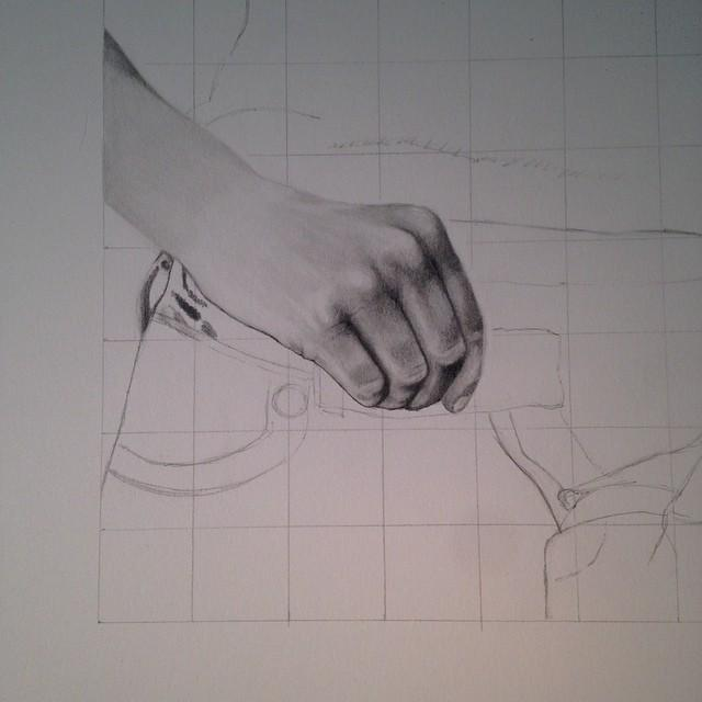 640x640 Working On The Index Finger. Drawing Hands Is A Lovehate