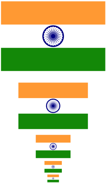 348x599 Drawing Indian Flag Using Tikz