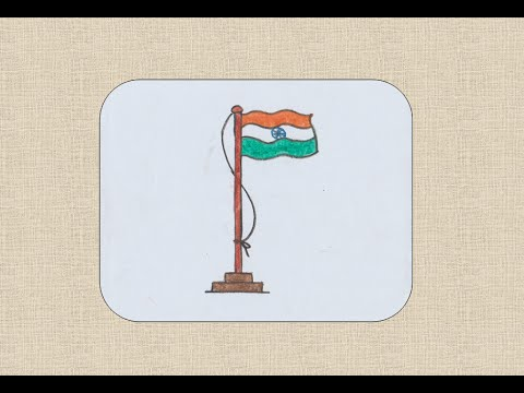 480x360 How To Draw Indian Flag For Kids