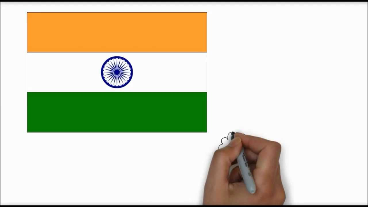 1280x720 Indian Flag In Hd (Learn To Draw)