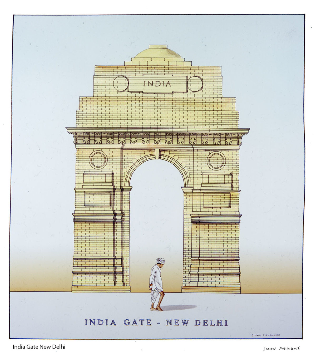 1200x1370 India Gate New Delhi