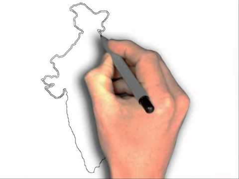 480x360 How To Draw India Map