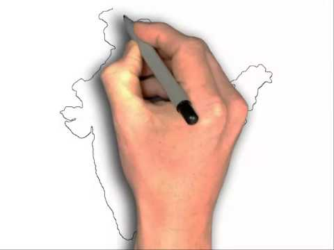 480x360 How To Draw India Map Easy