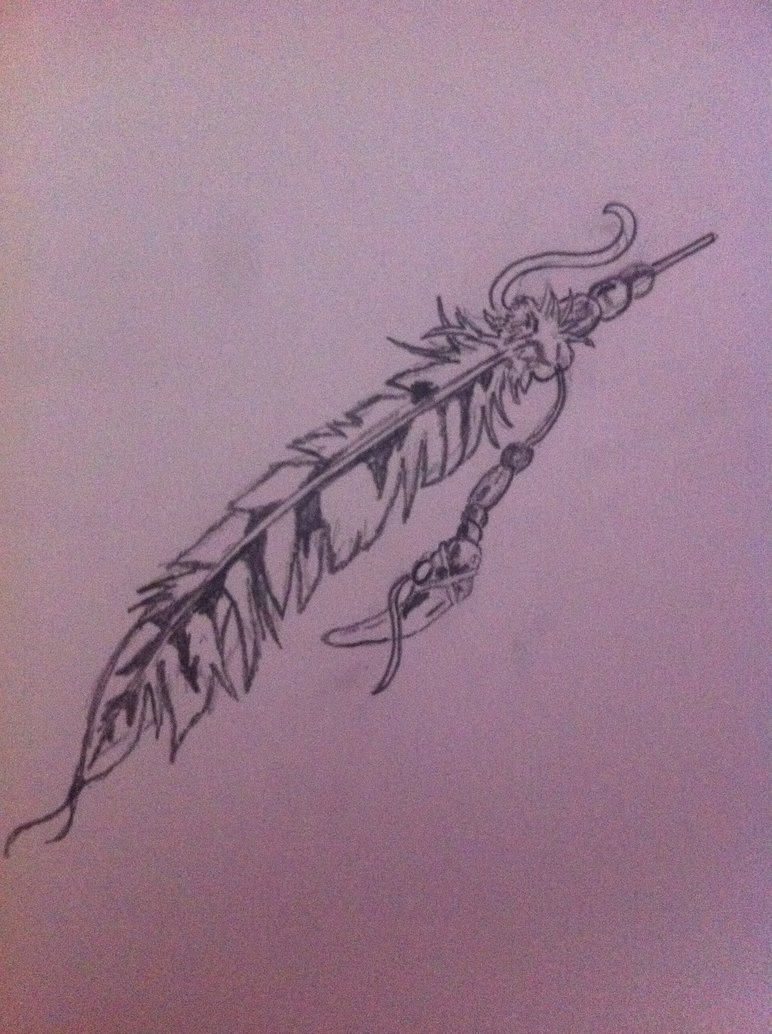772x1034 Native American Indian Feather By Theartistparadox