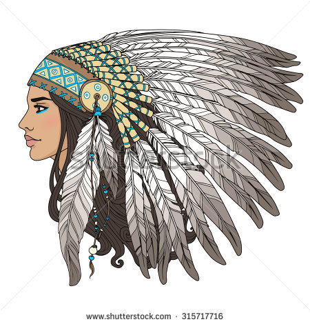450x470 Indian Chief Headdress Stock Images, Royalty Free Images
