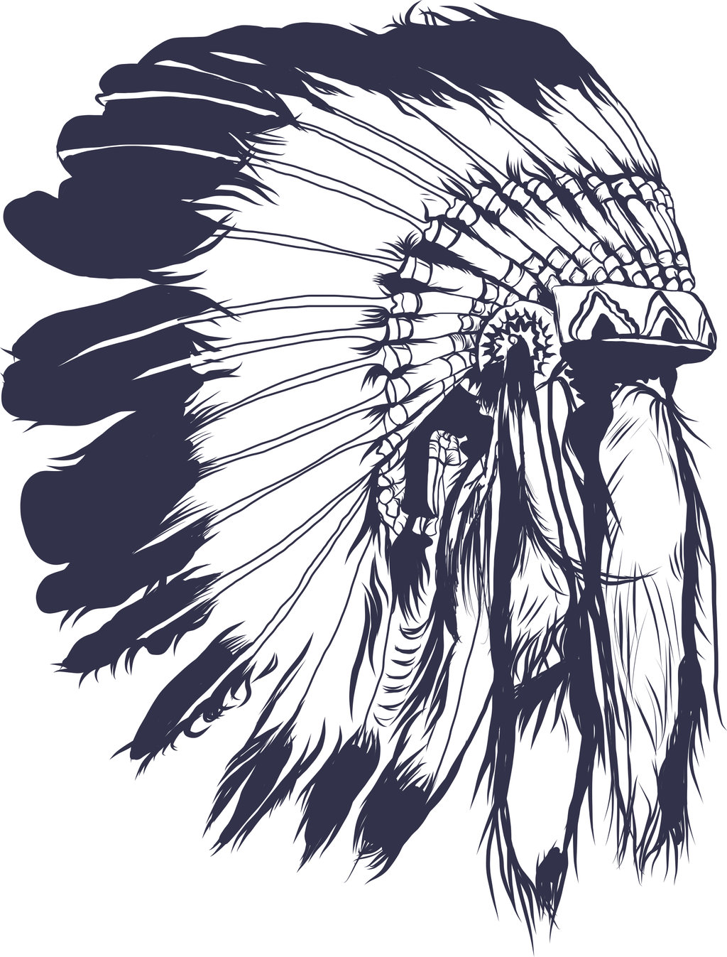 1024x1347 indian chief headdress tattoo wallpaper 6.jpg (1024×1347) Tattoo