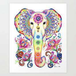 264x264 Elephant Drawing Art Prints Society6