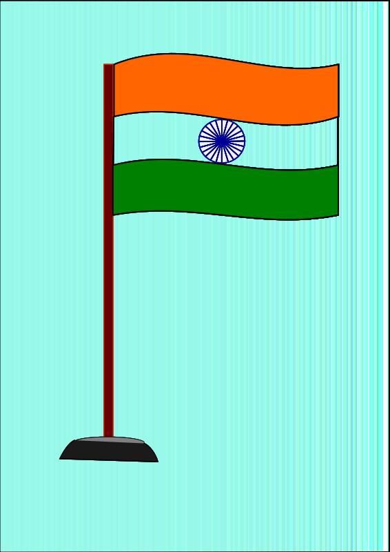 566x800 Free Clipart Indian National Flag Saurabhgup889