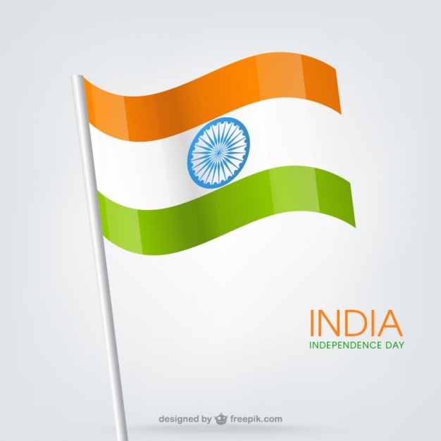626x626 Indian Flag Vector Free Download