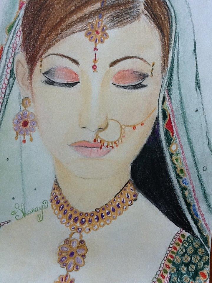 720x960 Indian Girl By Shanayaxd