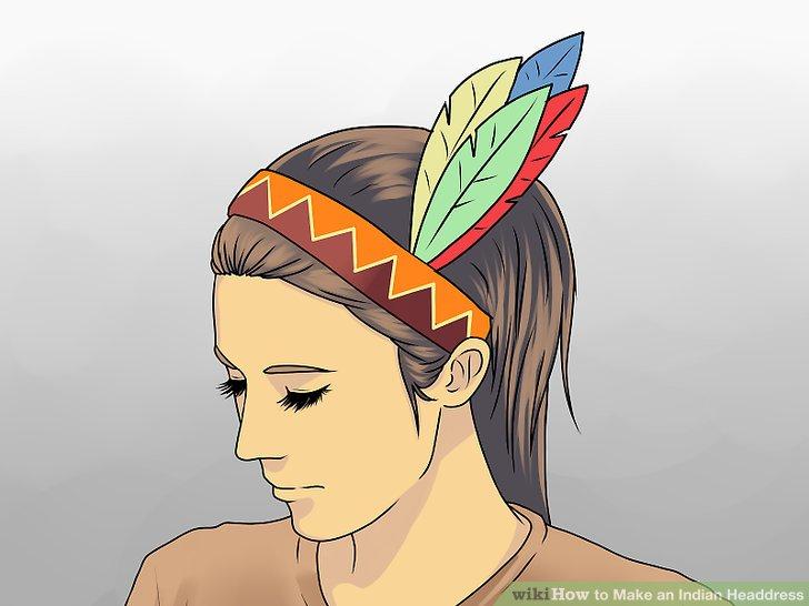 728x546 3 Ways To Make An Indian Headdress